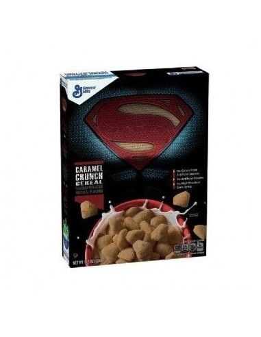 Comprar cereales Superman Caramel Crunch