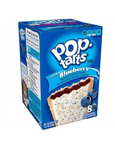 comprar Pop Tarts frosted Blueberry